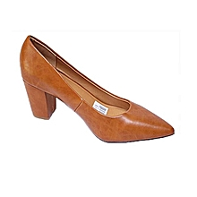 88382b6aeafd Women Medium Block Heel Brown