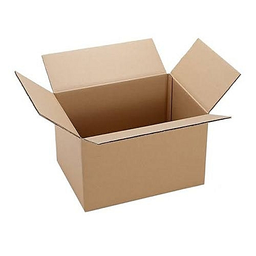 10 Small Plain Cartons(154mm'x154mm X 107mm)