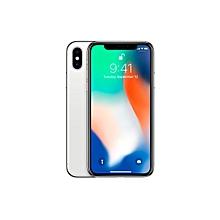 IPhone X 5.8-Inch HD (3GB RAM,256GB ROM) IOS 11, 12MP + 7MP 4G Smartphone - Silver