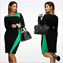 a7ebe1e6bb Large Size Dresses For OL Ladies Business Office Dresses Wear To Work  Elegant Pice Hip Simple