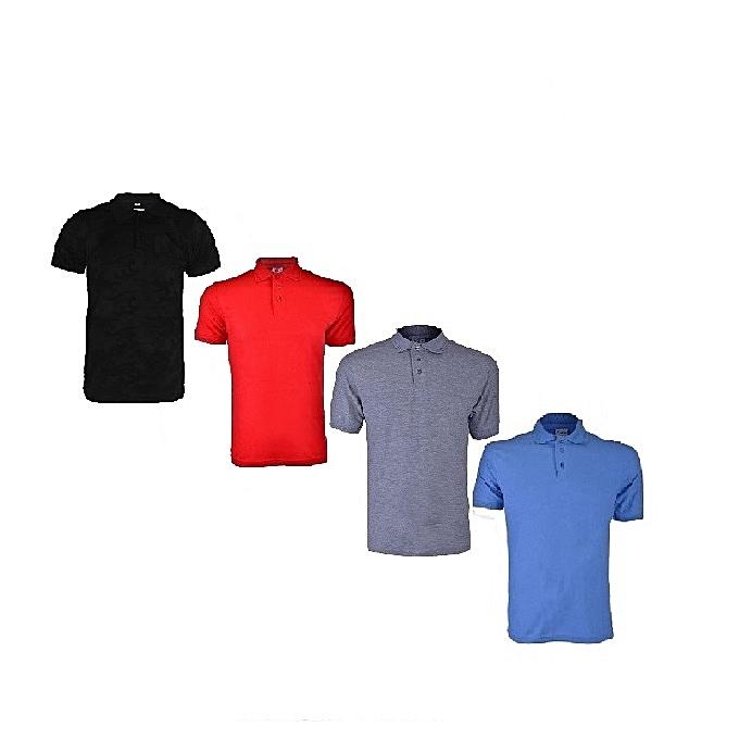 a65a3298aaa Fashion Men s Polo T-shirt Short Sleeve (4pcs)