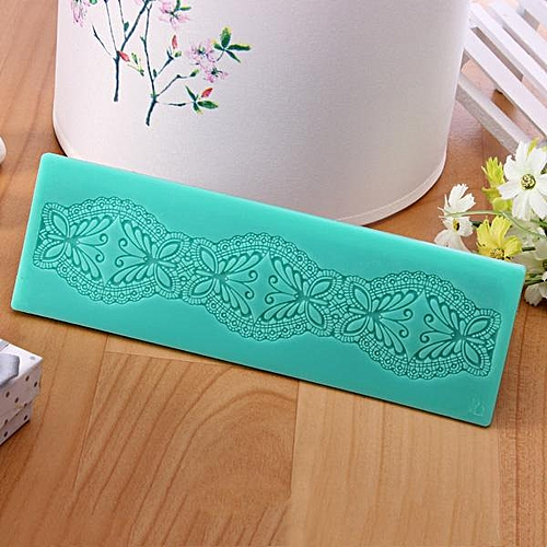Butterfly Lace Decorative Molds Fondant Silicone Cake Mould