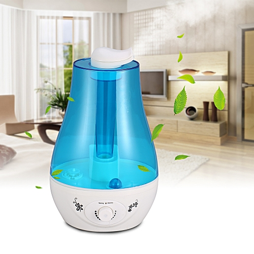 3L Ultrasonic Home Aroma Humidifier Air Diffuser Purifier Lonizer Atomizer US EU Plug High Quality