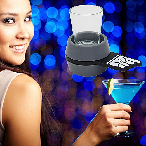 Fun Spinner Spin Roulette Glass Alcohol Drinking Game Party Gift