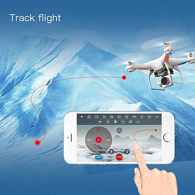 SH5W 5 Million Pixels Aerial Vehicle WiFi Real-time Transfer RC Quadcopter  HD Camera Drone UAV Helicopters Model FPV