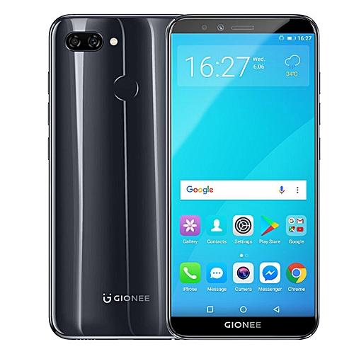S11 Lite 5 7 Inch HD (4GB,64GB ROM) Android 7 1 13MP + 16MP, Hybrid Dual  SIM 4G LTE Fingerprint ID Smartphone - Black