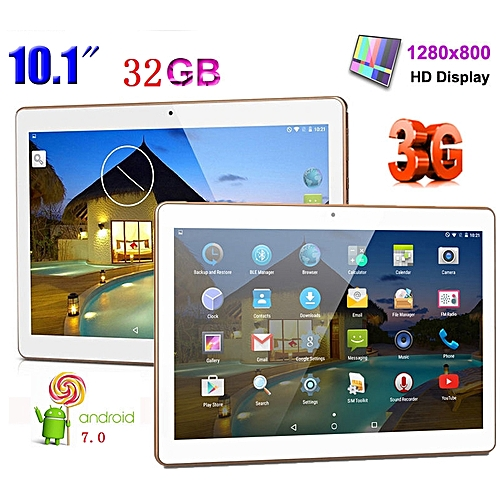 Generic 10.1 Inch HD IPS Screen Tablet PC Octa Core Dual SIM Cards Tablet Built-in GPS Bluetooth