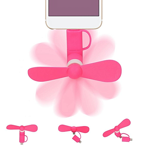 Portable Mini Fan High Speed Cooler For IOS Andriod Phones