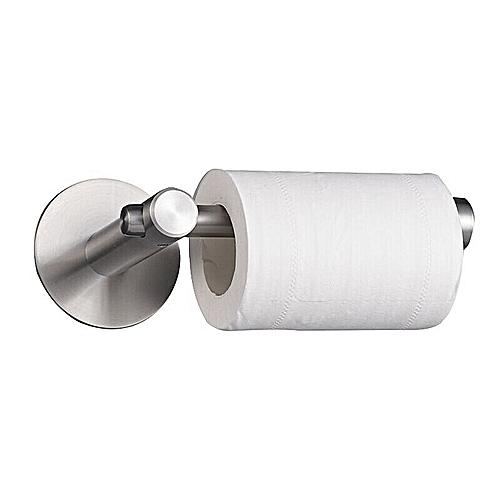 Toilet Roll Holder Self Adhesive, For Bathroom And Kitchen, Waterproof And Rust Proof