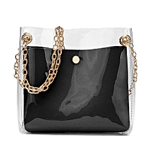 38b9994850 Women Solid Shoulder Bag Messenger Bag Crossbody Bag Phone Coin Bag BK