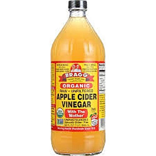 Apple Cider Vinegar (Raw/Unfiltered) With ' The Mother' - 946ml, 32oz