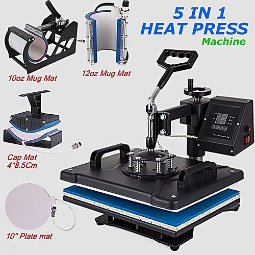 5 In 1 Multi-function Digital Heat Transfer Machine