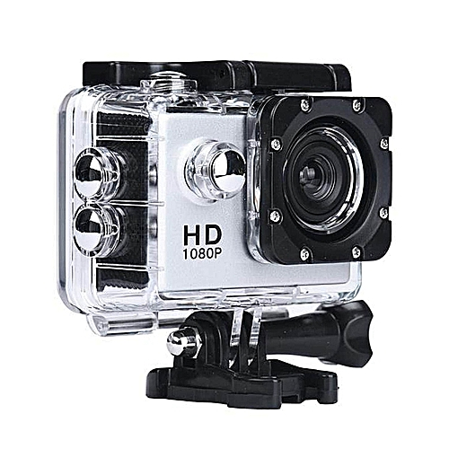 Mini 1080P Full HD DV Sports Recorder Car Waterproof Action Camera Camcorder Silver
