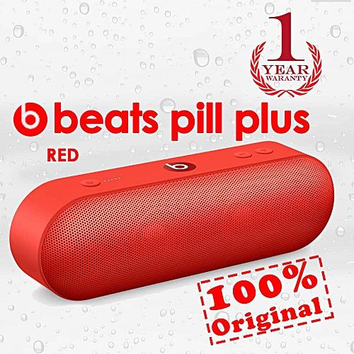 Beats Pill+ Wireless Speaker - CITRUS RED