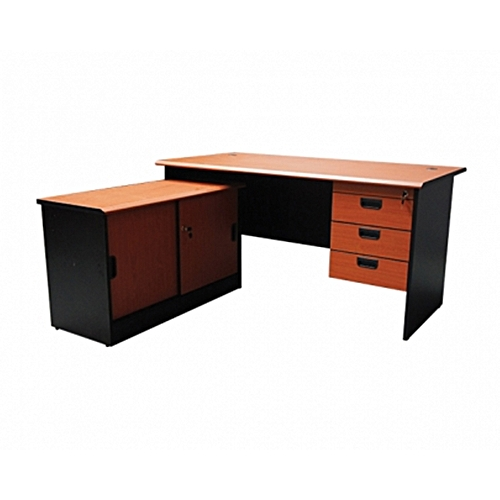 Phenomenal Mof Bl Full Melamine Cherry L Shape Office Desk Download Free Architecture Designs Scobabritishbridgeorg