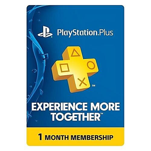 PSN 1 Month PlayStation Plus Membership PS3-PS4-PS-Vita - USA