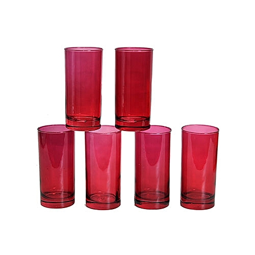 WATER AND JUICE GLASS CUP SET-6PCS