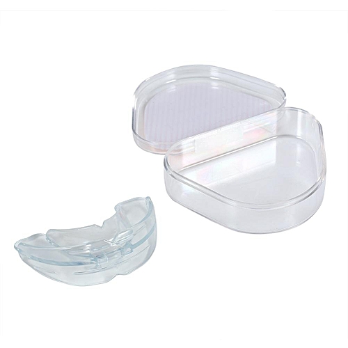 Generic 【11.11 Hot Sale】[Hot!] Teeth Retainer Dental Health Care Straight Tooth Tray Trainer Accessories (Transparent Hard)