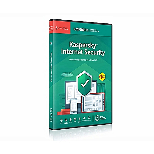 Kaspersky Internet Security 3 Users + 1 Free User- 1 Year-full PC License