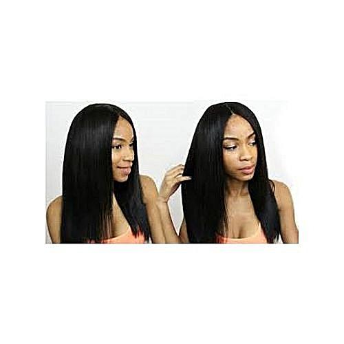Human Hair Wig- With Closure