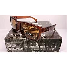 620c7f17d7 Sunglasses Oakley Polarized Holbrook Matte Brown Brown Custom Lens