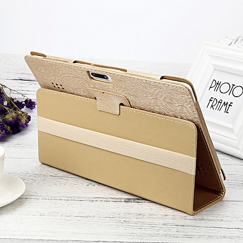Haojks Universal Folio Leather Stand Cover Case For 10 10.1 Inch Android Tablet PC