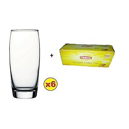 Imperial Water And Beer Glass Set - 6pcs