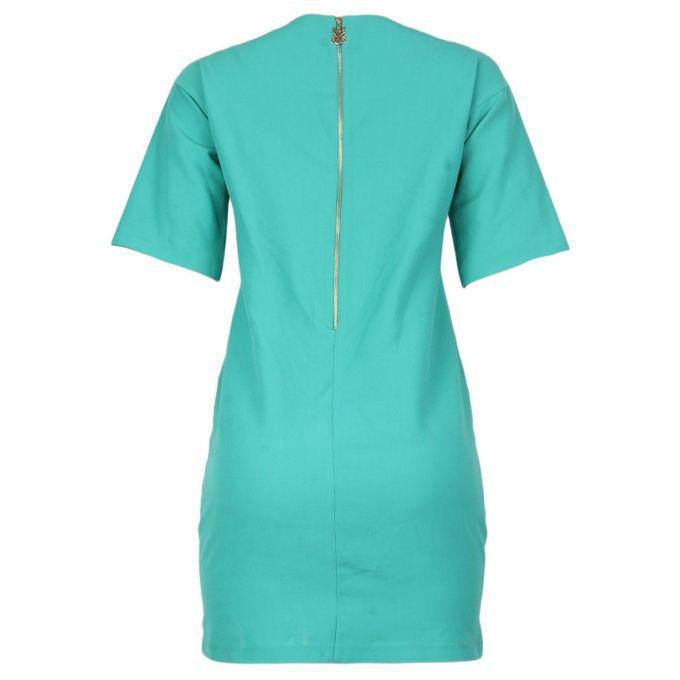 lafillazzi Short Sleeve Midi Dress- Green | Buy online | Jumia Nigeria