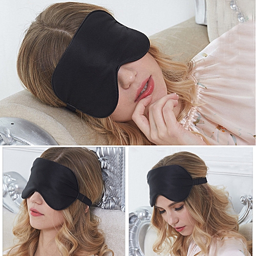 Honana DX-321 Soft Silk Travel Eye Mask Comfort Breathable Women Men Shading Sleep Eye Mask