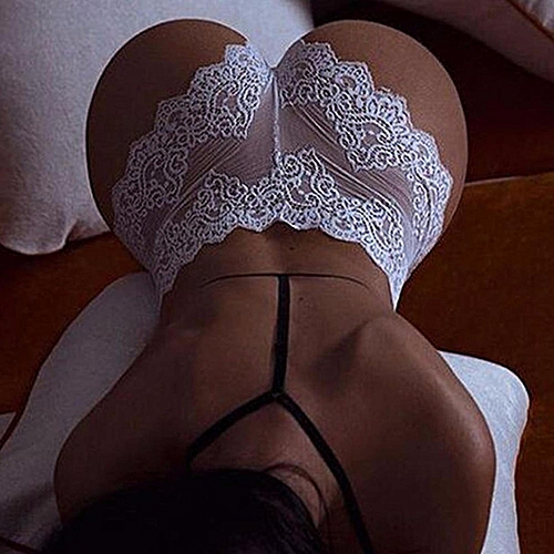 Fashion New Women Fashion Ladies Lace G-string Briefs Panties Thongs Lingerie Underwear Knickers White