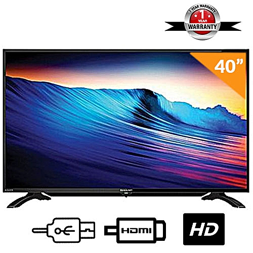 40 Inch SHARP LED TV LC40LE185M - Black