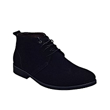 Men  039 s Ankle Corporate Shoe - Black 04b715f7df8e