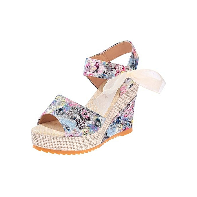 2eabf5a40 Refined Women s Shoes Elegant Sandals Women Wedges Shoes Fashion Platform  High Heels Sandals Women Open Toe