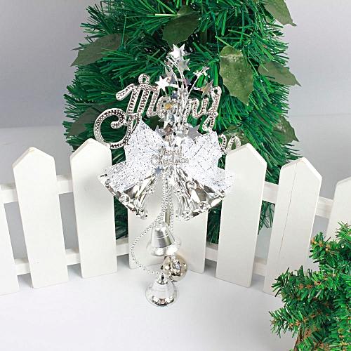 Christmas Tree Decoration Bow Bells Ornament Home Decor Holiday Gift Pendant Wannag