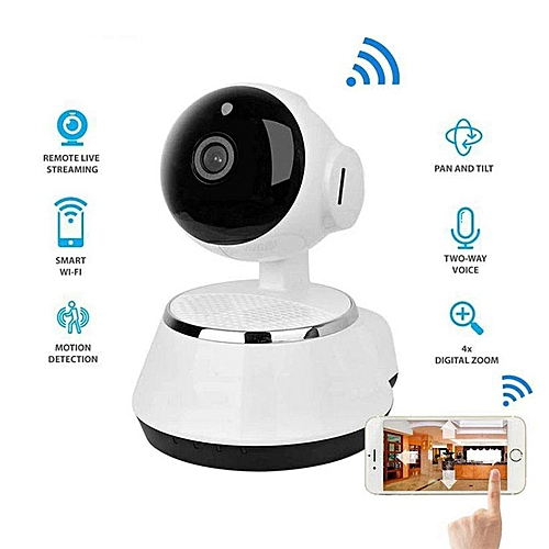 P2P Stand Alone Wireless WiFi Night Vision IP Camera