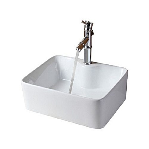 Ceramic Wash Hand Basin With Mixer Tap