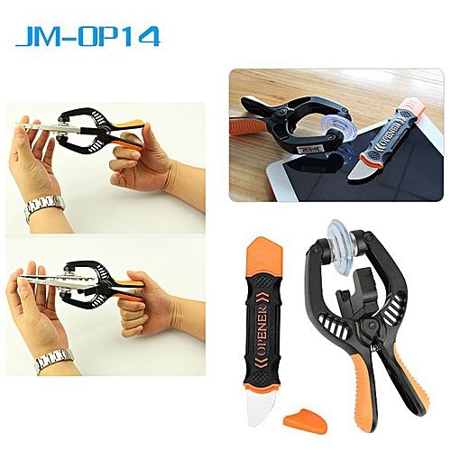 Jakemy JM-OP14 2 In 1 Opening Tool For Repairing / Maintaining - Black
