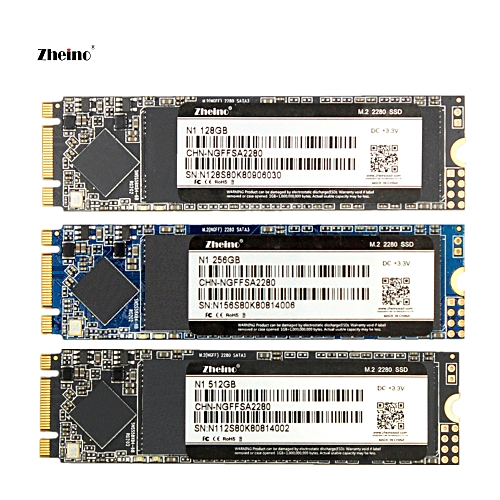 Zheino M.2 2280 128GB 256GB 512GB SSD M.2 NGFF SSD 2280mm With SATA3 6gb/s High Speed Internal Solid State Disk Drive For PC DESKTOP LAPTOP MACBOOK SERVER