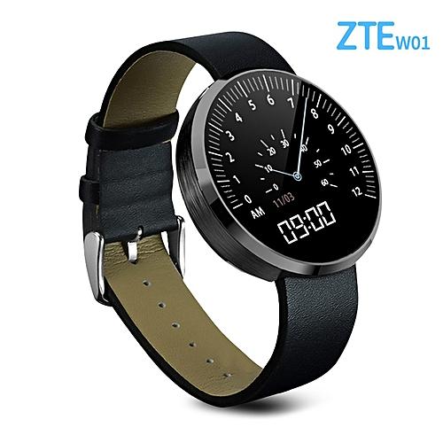ZTE W01 - Smart Watch Intelligent Page Turning 320mAh - Black