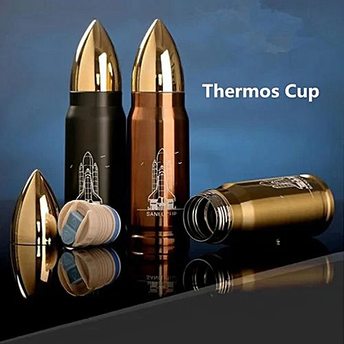 500ml Stainless Steel Thermos Mug Bullet Cup Travel Bottle