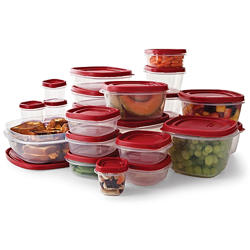 Rubbermaid Takealongs Food Storage Set - 50 Pieces
