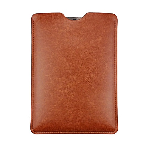 9.7 Inch Universal Leather Simple Leather Case Cover For Tablet PC Brown