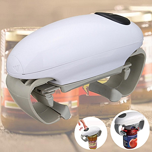3PCS Kitchen Automatic Electric Jar Opener Can Tin Tool Gadget - Easy Touch Button