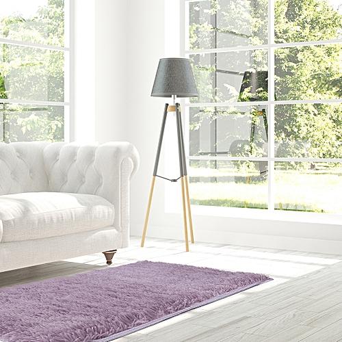 Soft Fluffy Area Rug Anti-Skid Shaggy Carpet Floor Mat, 80 X 120 Cm