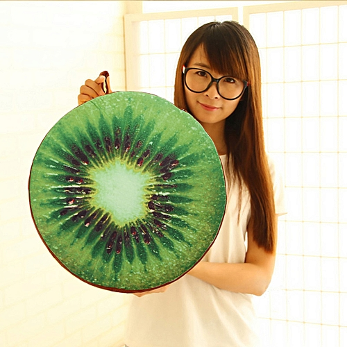 Round Fruit Throw Pillow
