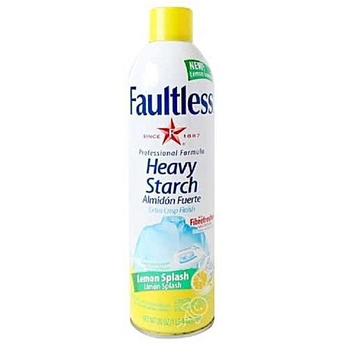 Heavy Spray Starch - Lemon Splash