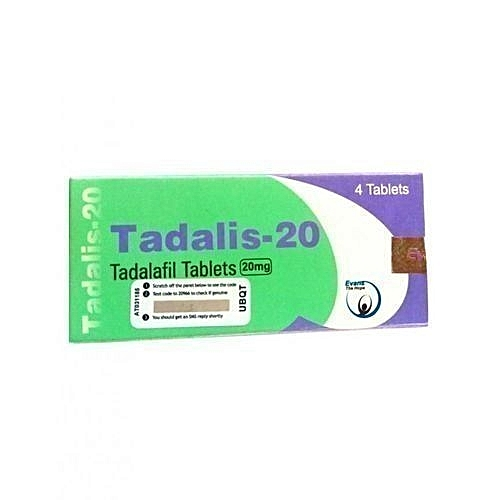 Tadalis-20 For Erectile Dysfunction