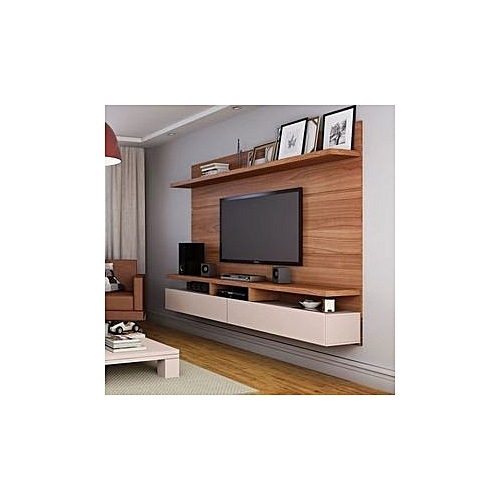 TV Shelf - Brown (HOME DELIVERY WITHIN LAGOS AND ABUJA ONLY. SELF PICK UP AT OTHER STATES)