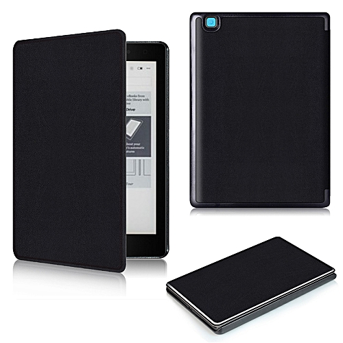 Magnetic Auto Sleep Leather Cover Case For KOBO Arua One EReader 7.8 Inch BK