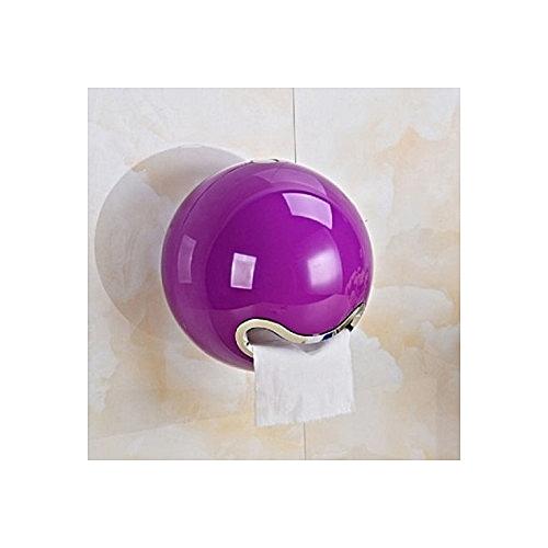 Toilet Dinning Tissue Holder Plastic Purple